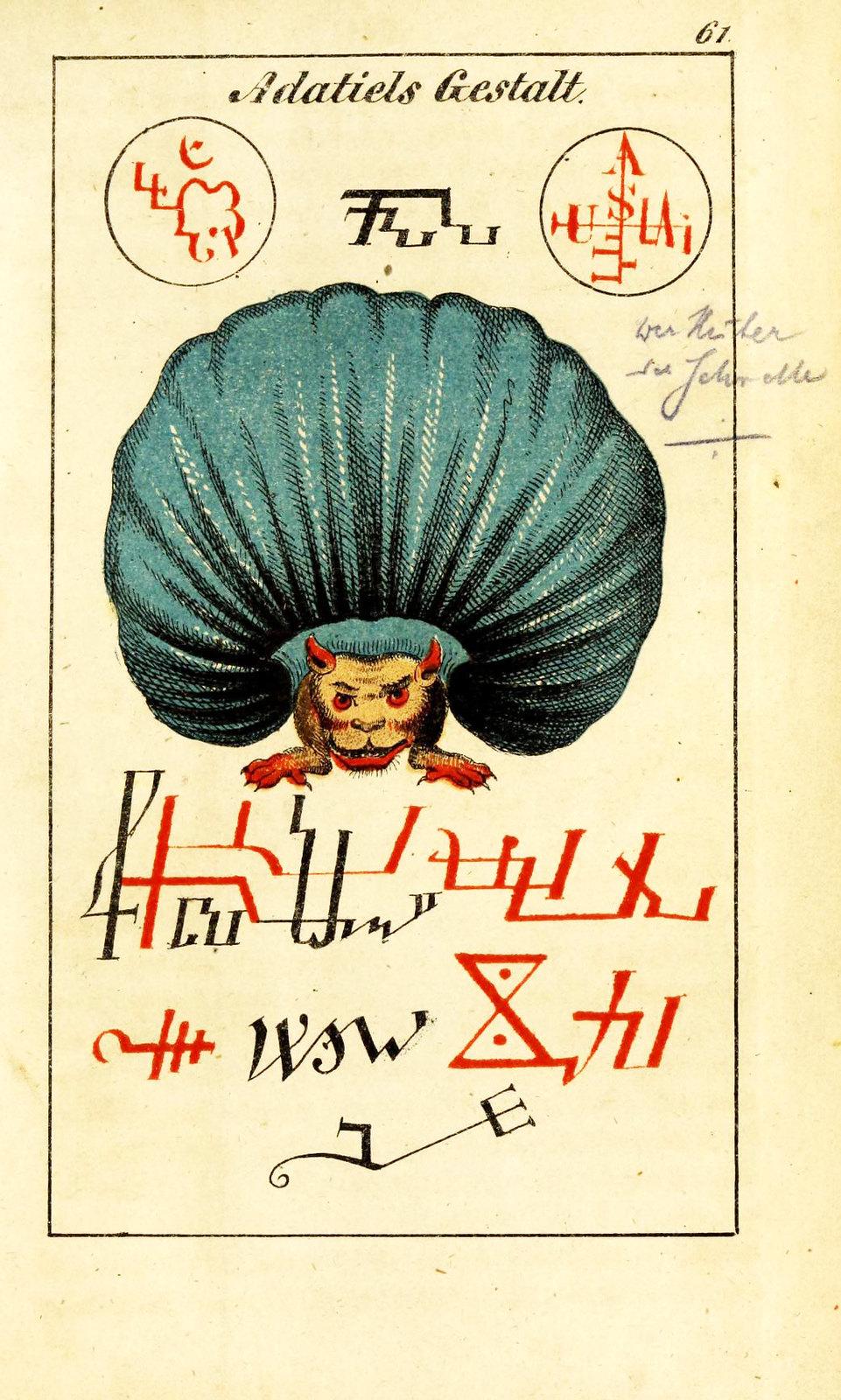 Johann Scheible - Doktor Johannes Faust's Magia naturalis et innaturalis, 1849 (10)