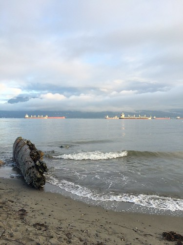 King Tides at Spanish Banks