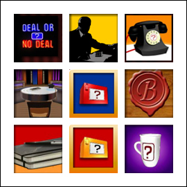 free Deal or No Deal UK slot game symbols