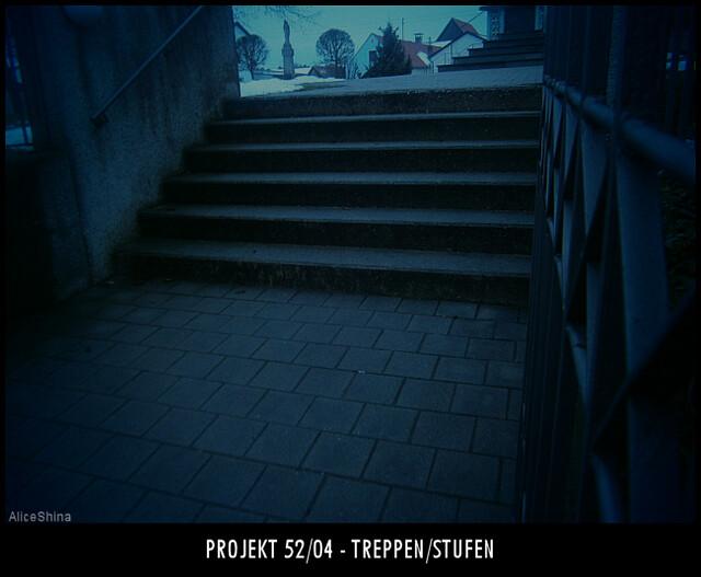 Projekt 52/04 - Treppen / Stufen