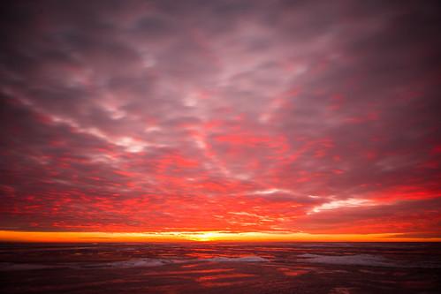 winter sunset sea sky sun seascape iceestoniapärnu