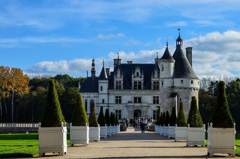 Château de Chenonceau Main Path