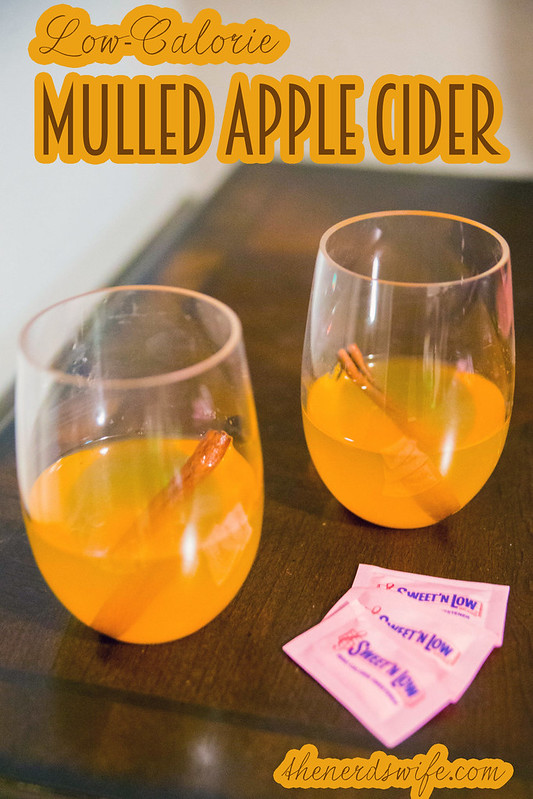 Low Calorie Mulled Apple Cider #SweetNLowStars