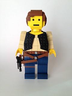 Han Solo midifig