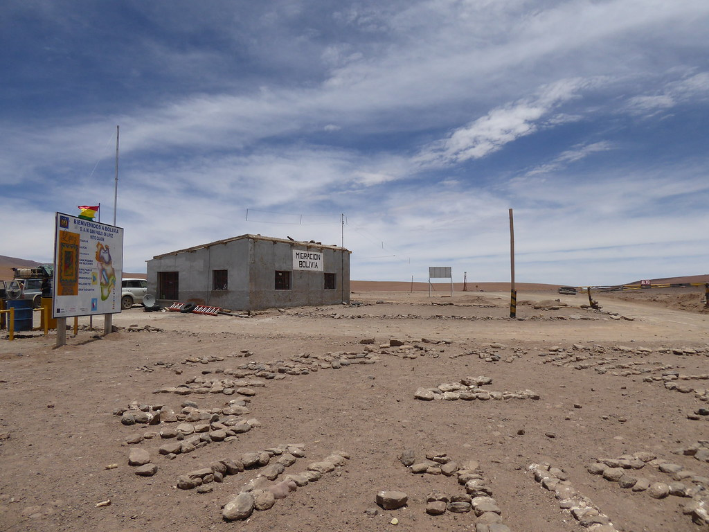 Bolivia/Chile border post