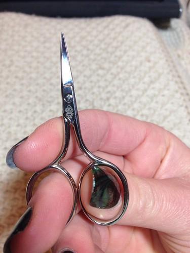 Hardanger scissors
