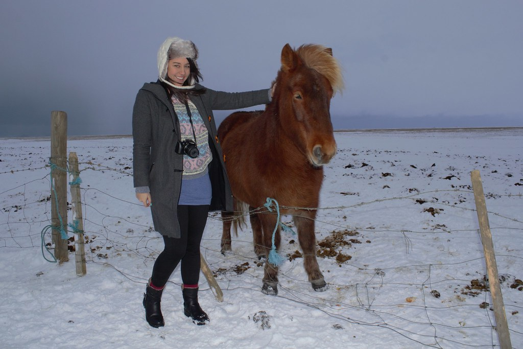 Me with an Icelandic Pony