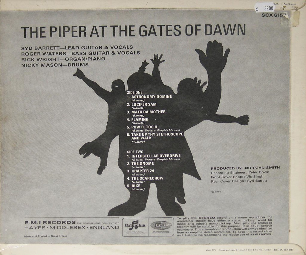 "Risultati immagini per ""The Piper at the Gates of Dawn"" retro"
