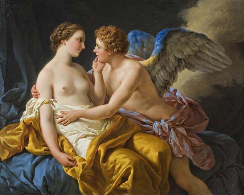 Louis Jean Francois Lagrenée - Amor and Psyche