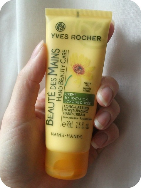 Review Yves Rocher Long Lasting Moisturising Hand Cream