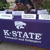 Come check out our plant samples at the Kansas Grown farmers market in Derby this morning! #ksre #kansasgrown