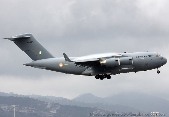 INDIAN AIR FORCE C17 CB-8007