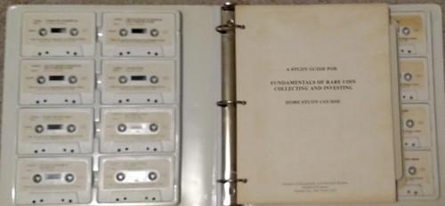 Adelphi University numismatic study course tapes