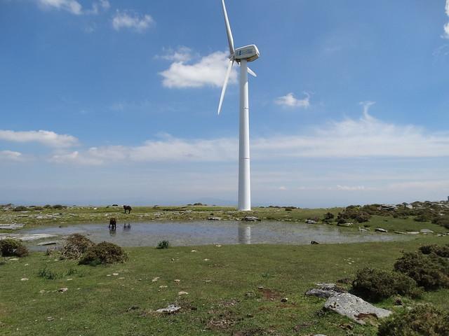 Lagoa das Lamas en el Barbanza