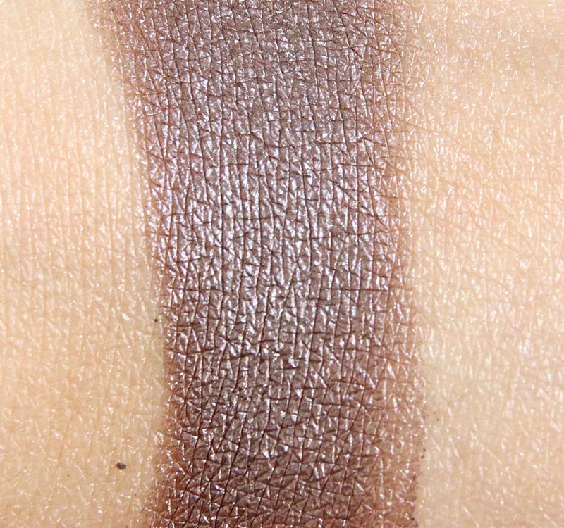 Clarins 07 silver plum Ombre Iridescente eyeshadow swatch