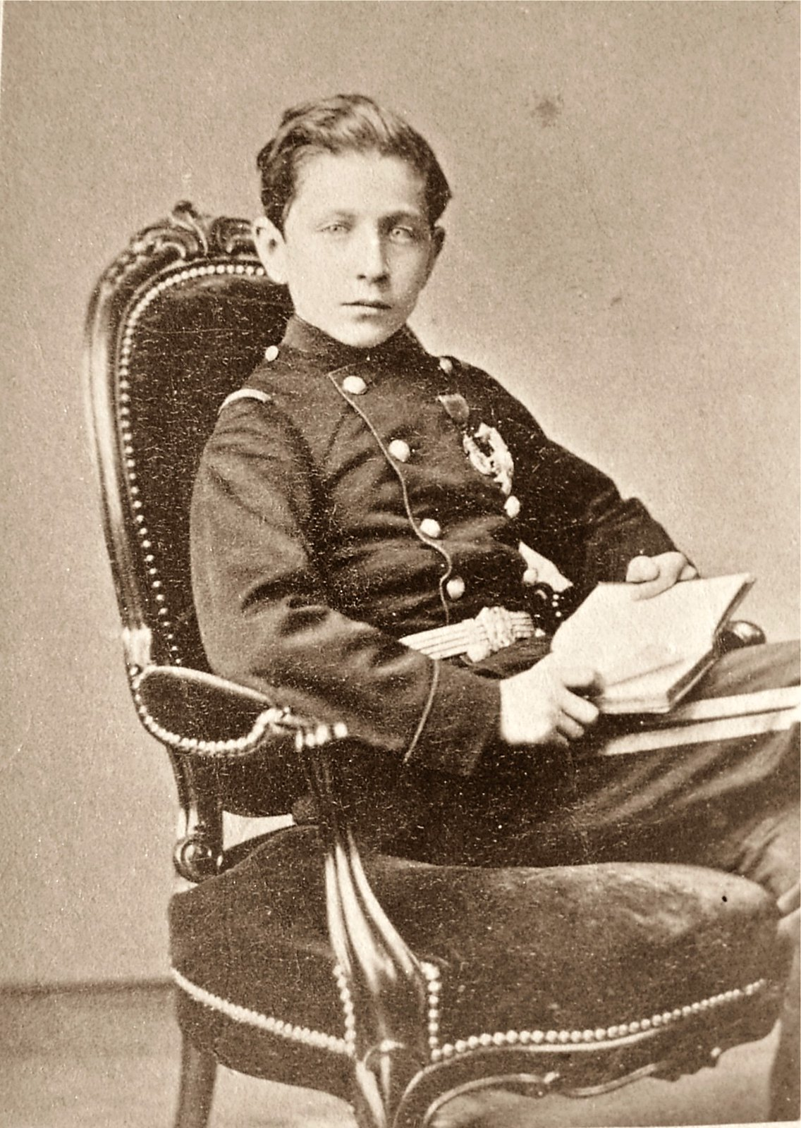 Napoléon at age 14, 1870