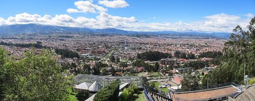 Cuenca: vue depuis le mirador de Turi