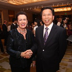 Lord Mayor Clover Moore with Mr Tao Zhenguang, Deputy Secretary-General of Guangzhou government at the Sydney universities alumni event in Guangzhou