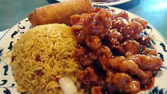Sesame Chicken Plate.