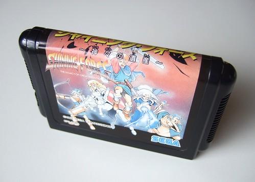 Shining Force Mega Drive cartridge