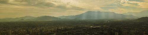 chile santiago liz canon san ciudad cerro panoramica nubes recoleta cristobal alfaro