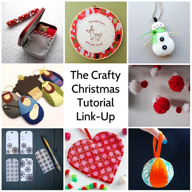 The 2014 Crafty Christmas Tutorial Link-Up A