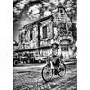 """Melintas di Kota Lama""  Pertama kali ke Semarang sekitar 2009an #blackwhite_photography #blackwhite #photography #bnw_zone #bnw_indonesia #bnw_bandung #bnw_madrid #bw_photography #bw_scence #bw_capture"