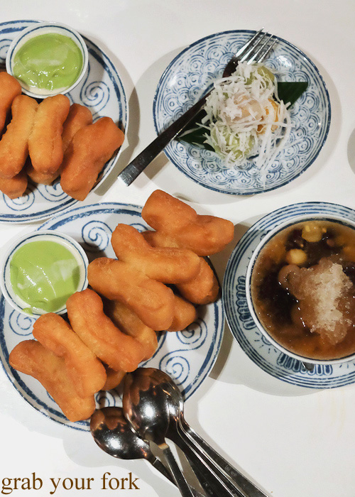 Thai desserts at Chat Thai, Sydney