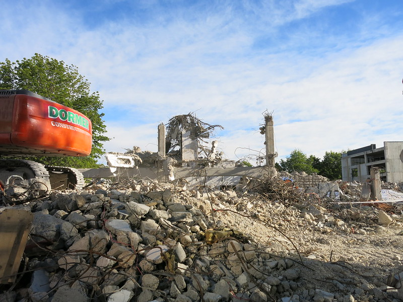 Central Library demolition
