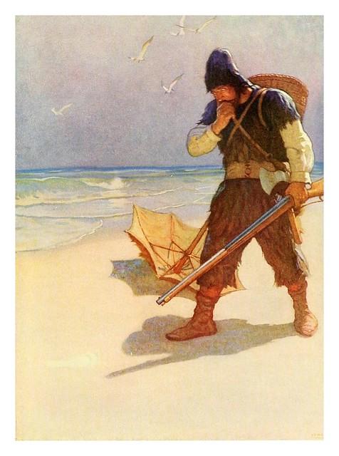 018-Robinson Crusoe-1920- ilustrado por NC Wyeth