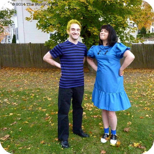 Couple Costumes are for Blockheads