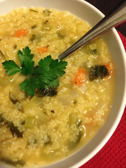 Quick pastina soup on twothirtyate.com