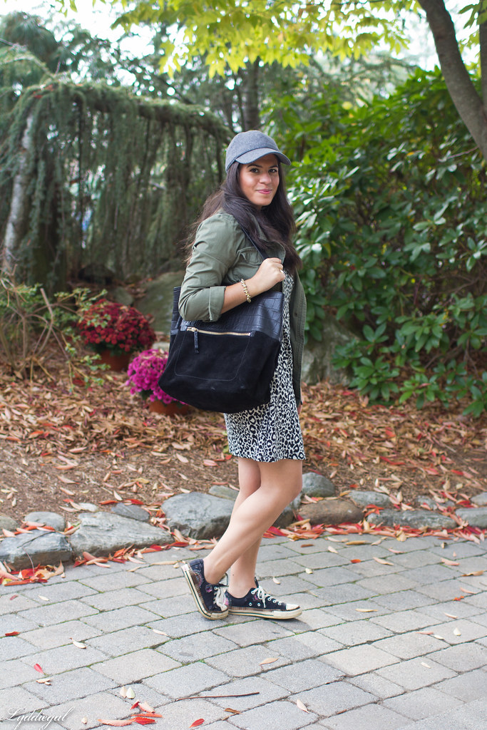 Leopard dress, utility jacket, converse-2.jpg