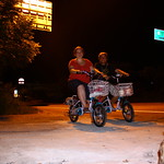 Wir und die Roller