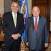 Secretary General Receives former President of Bolivia Carlos Mesa