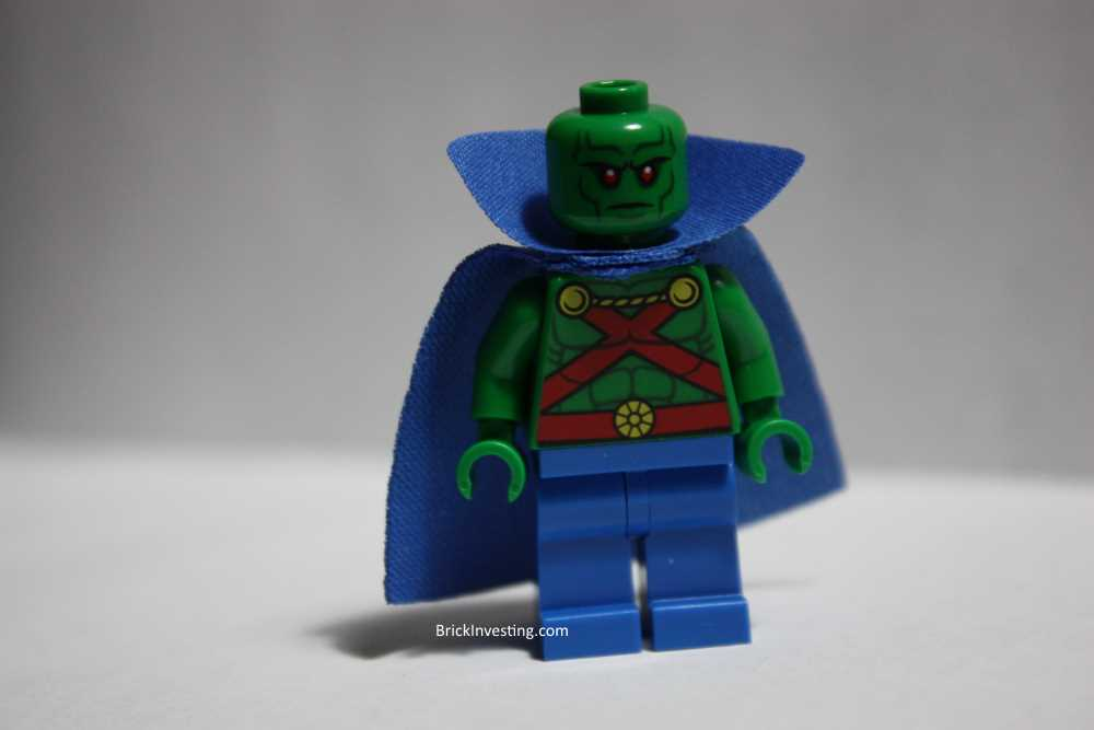 Martian Manhunter LEGO minifigure