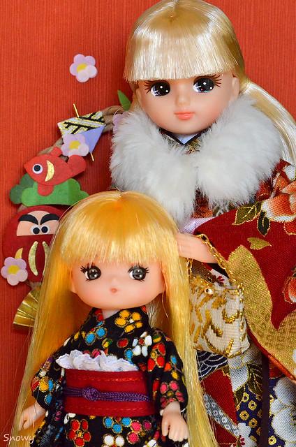 リカちゃん&ミキちゃん