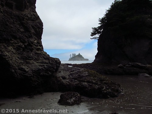 Sea Stack Picture Frame, south of Third Beach, Olympic National Park, Washington