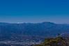 八ヶ岳と両神山@丸山展望台