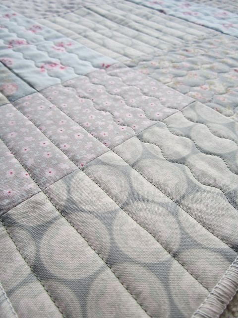 quilt as you go patchwork cushion top (4)