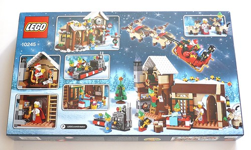 LEGO 10245 Santa's Workshop box02