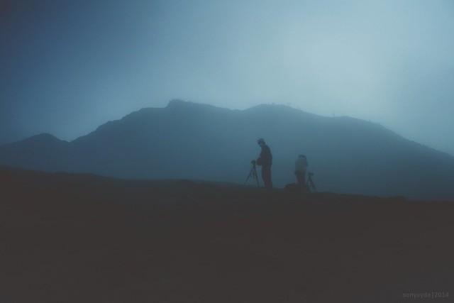 Ijen Landcape (Fog)