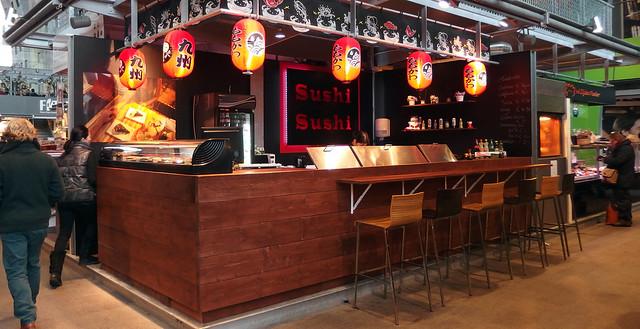 Sushi Sushi in de Martkhal
