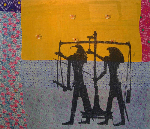 Shezad-Dawood,-Come,-Sweet-Death,--with-Madness-Marked-and-end-the-Sceneless-Revelry-2012-Acrylic-on-vintage--textile-145-x-175-cm-image-courtesy-the-artist-1