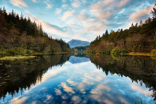 uk morning beautiful reflections landscape scotland highlands scottish glencoe lochaber canon1740 glencoelochan canon5dmk3 markmullenphotography