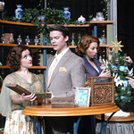 She Loves Me - Photo Credit P. Switzer Photography 2014 - Pictured L-R: Julia Jackson (Amalia), Andrew Russell (Georg), Jennifer Lorae (Ilona) and Rob Costigan (Ladislov).