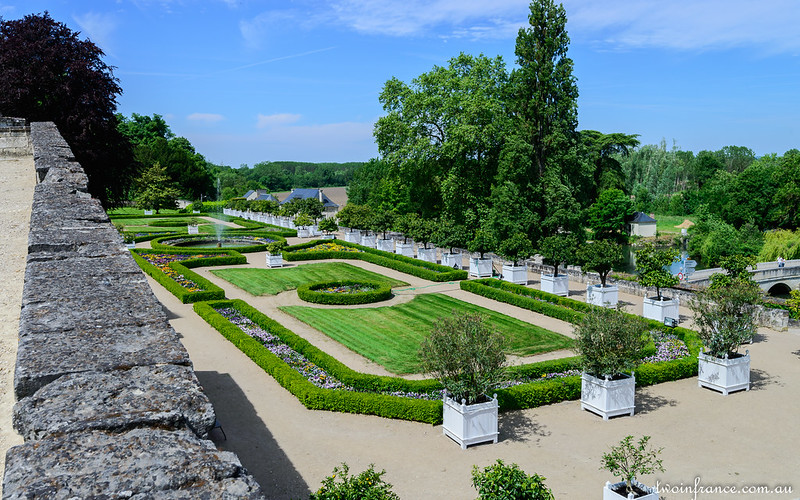 Terrace Garden - Château d'Ussé