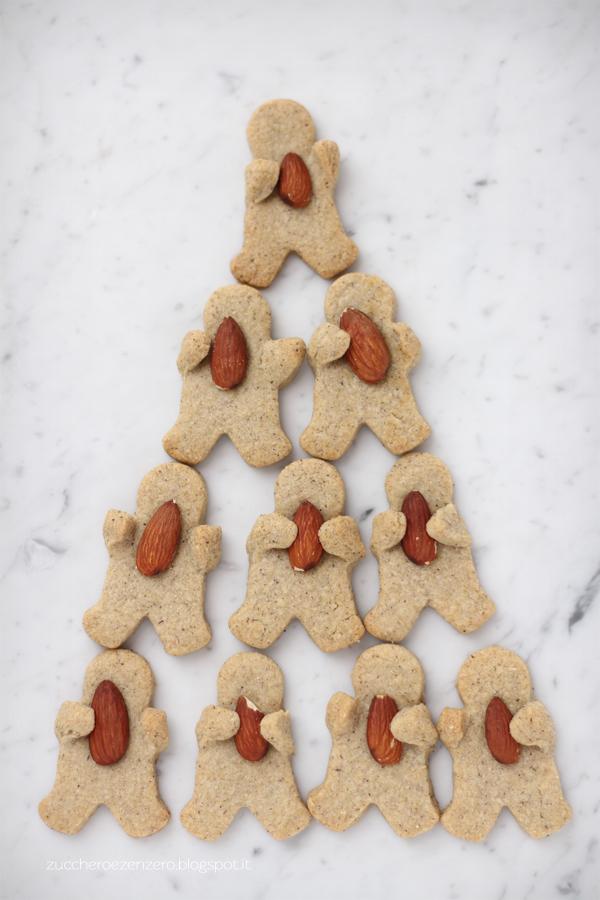 Biscotti con grano saraceno e mandorle