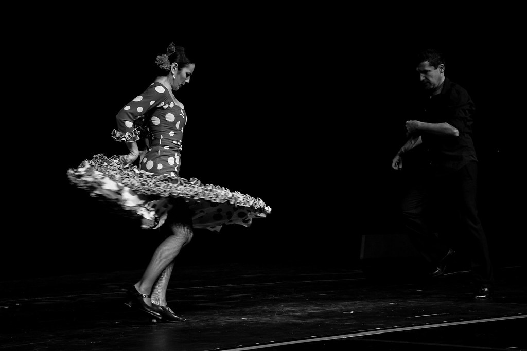 an introduction to the history and development of flamenco dancing O used dance as an expression of sorrow and suffering • lived in ghettos called barrios → triana in sevilla becomes central in the development of flamenco flamenco footwork.