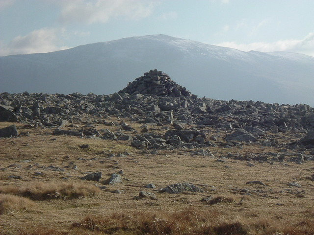 Cairn and Mountain